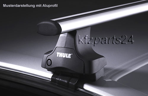 thule wingbar dachtr ger ford kuga ohne reling 754 962. Black Bedroom Furniture Sets. Home Design Ideas